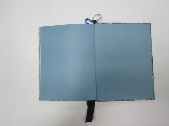 A5 hardcover hardbound notebook/agenda/plannerwith hanging drop