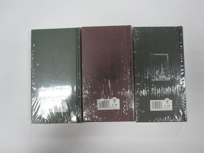 3 subject hardbound round back diary /notebook