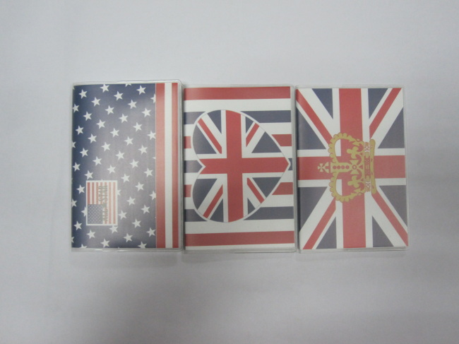 3 subjectPP cover softcover notepad/book