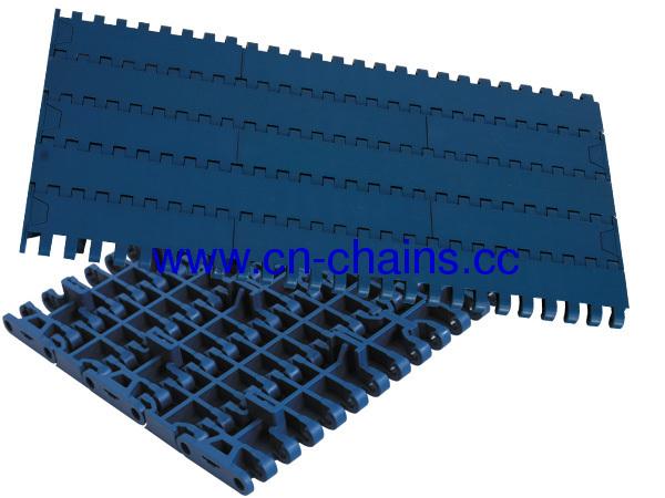 Plastic Closed Top Modular Conveyor Belt with positrack (RW-FT1000)