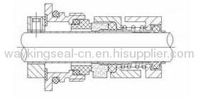 semi-welded cartridge mechanical seals for pumpsCR16