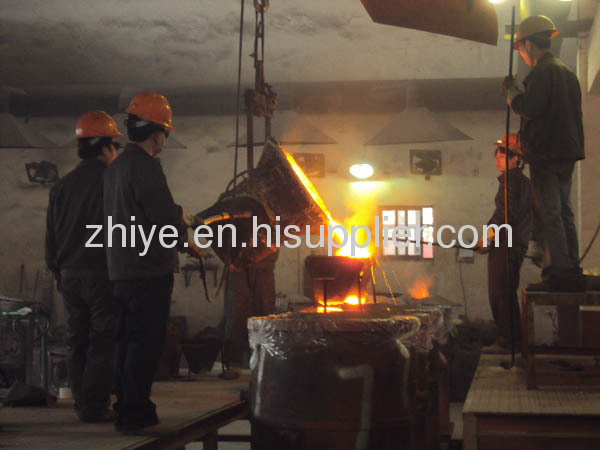 engineering accessory conical shell casting