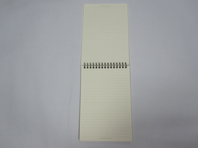 2 subject hardcover spiral notepads/stenopads/scrachpads college ruled