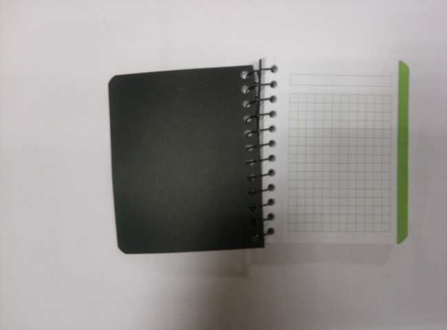 4 subjectA7 PP cover spiral notebook/notepad