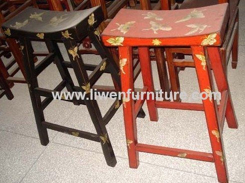 Chinese classical painted stool