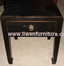 Chinese furniture stool 1 drawer