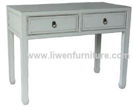 Antique desk reproduction table