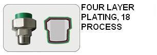 Male Tee PP-R Fittings Series
