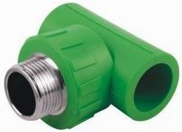PPRC Fittings plumbing material Male Tee