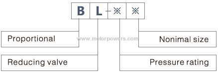 the Proportional directional valve