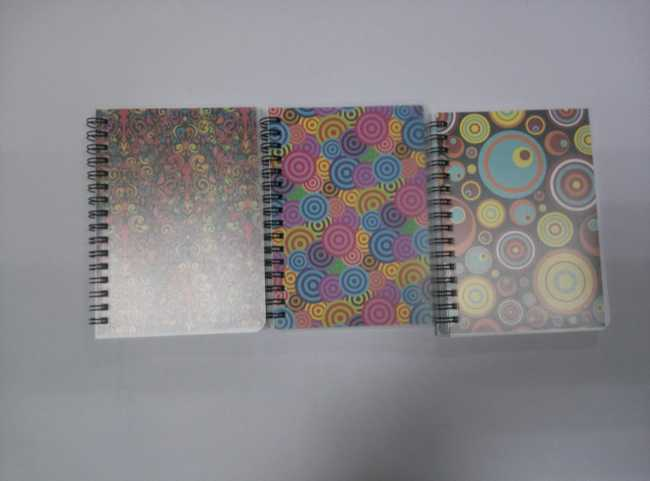 A6 PP cover spiral notebook college ruled