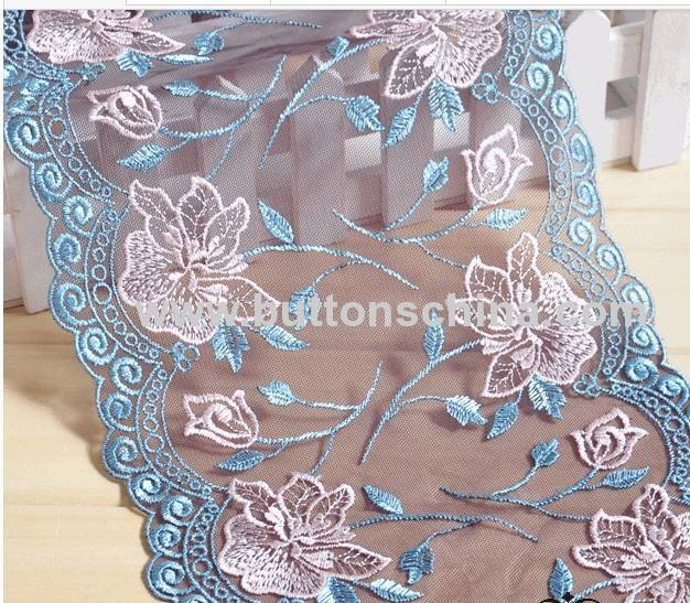 CHEMICAL NET EMBROIDERYLACE