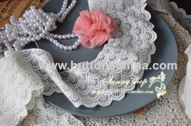 FLOWER CHEMICAL LACE