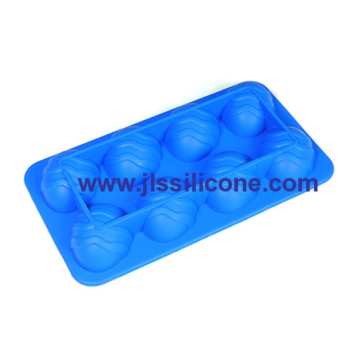 Easter egg silicone chocolate molds