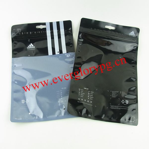 High Quality Clear Plastic Shirt Packaging Bags Yzd