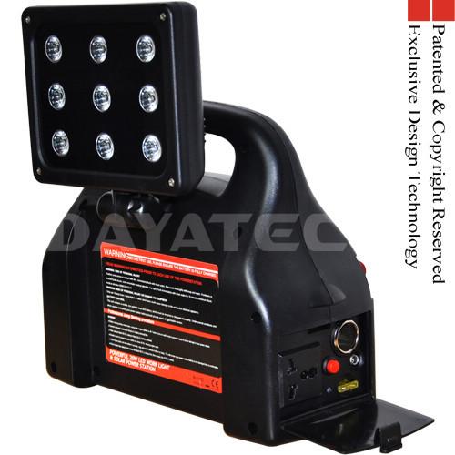 Rechargeable 20W LED light Jump Starter Inverter