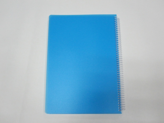 A4 3 subject PP cover notebook college ruled