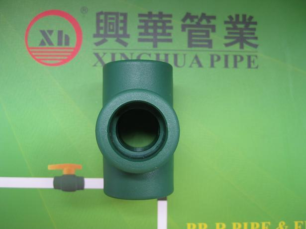 PPR fittings plumbing material Cross from China