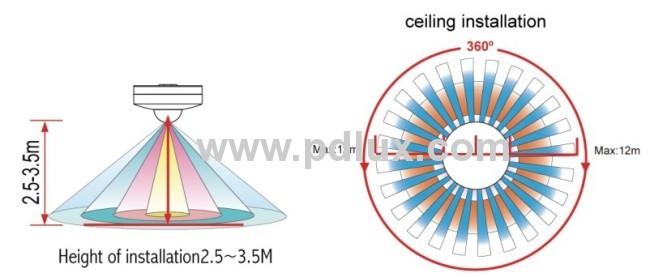 Infrared Motion Sensor PD-PIR104