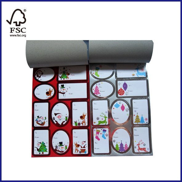 Adhesive Gift Tags100 Stickers