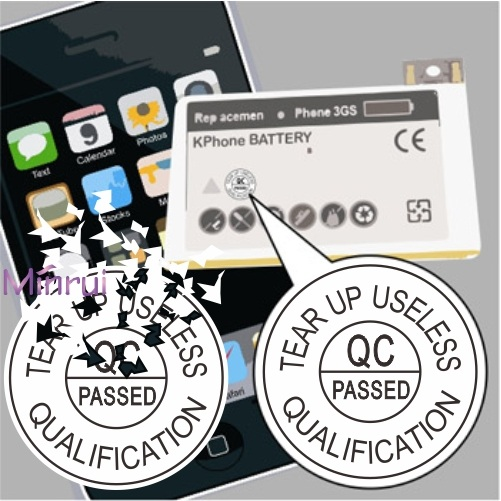 Custom Round Security Calibration Stickers,Round Tamper Evident Calibration Labels,Destructible Calibration Stickers