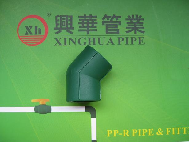 PPRC fittings plumbing material Elbow 45° from China
