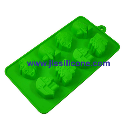 Jeep silicone chocolate molds