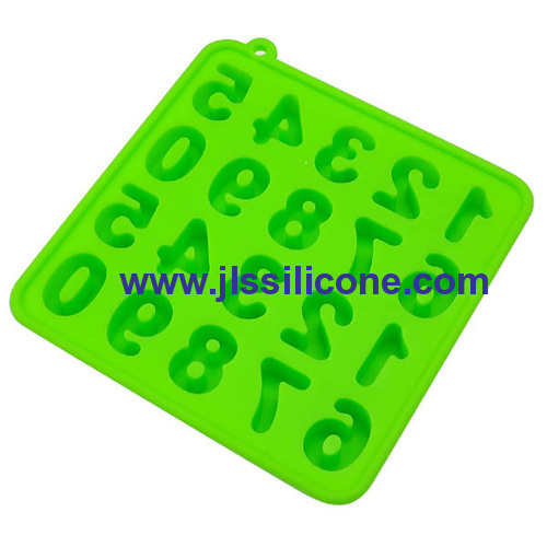 numbers silicone chocolate molds and also for jelly sugars