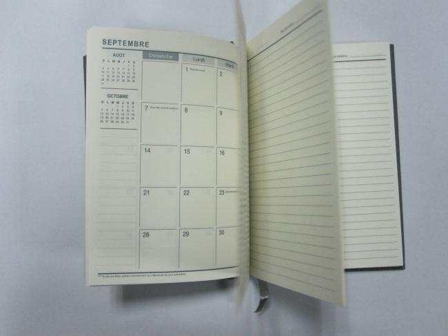 2 subject hardboundagenda/notebook/planner