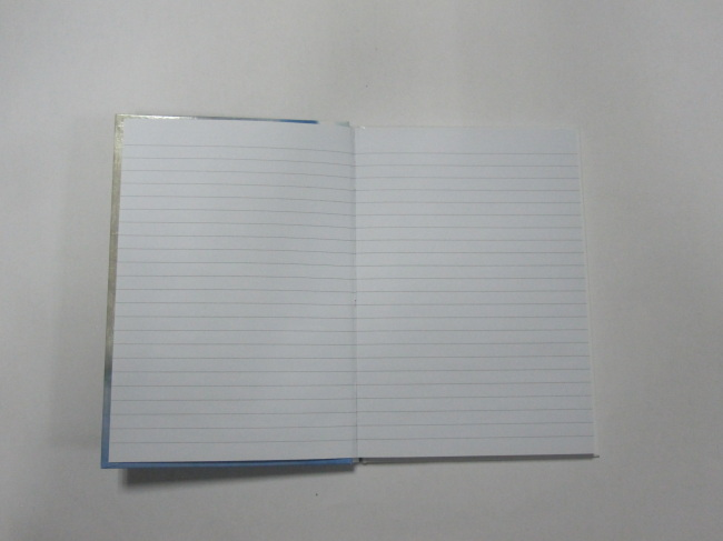 A6 6 subjectcollege ruled hardbound notepad/notebook
