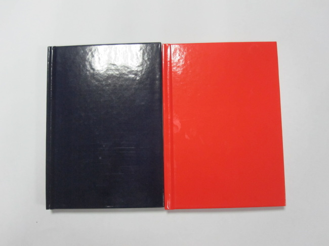 A6 2 subject college ruledhardbound notepad/notebook