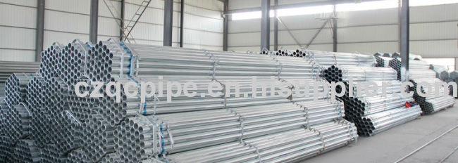 Galvanization seamless pipes ASTM A106 Gr.B