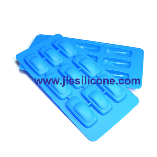 9 cavity cool car silicone chocolate molds