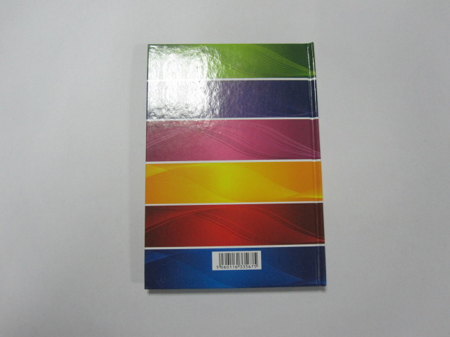 A5 hardcover hardbound notebook college ruled hot sale