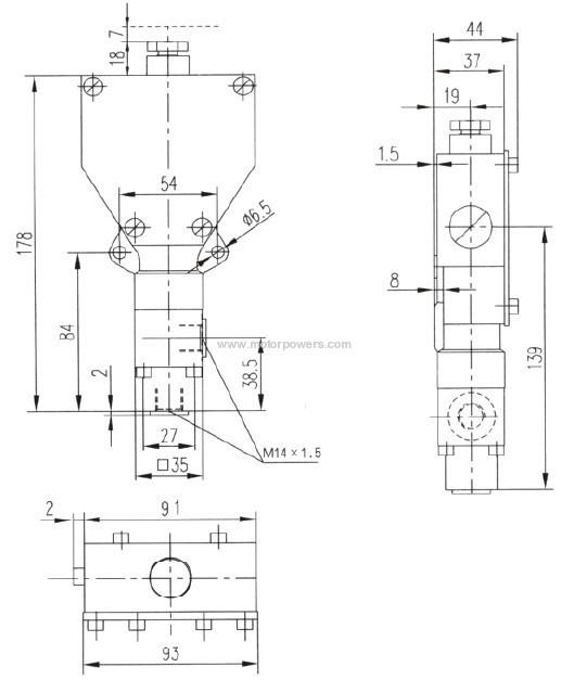 piston pressure switch
