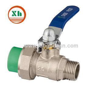 Клапан PPR Мужской Бал для воды