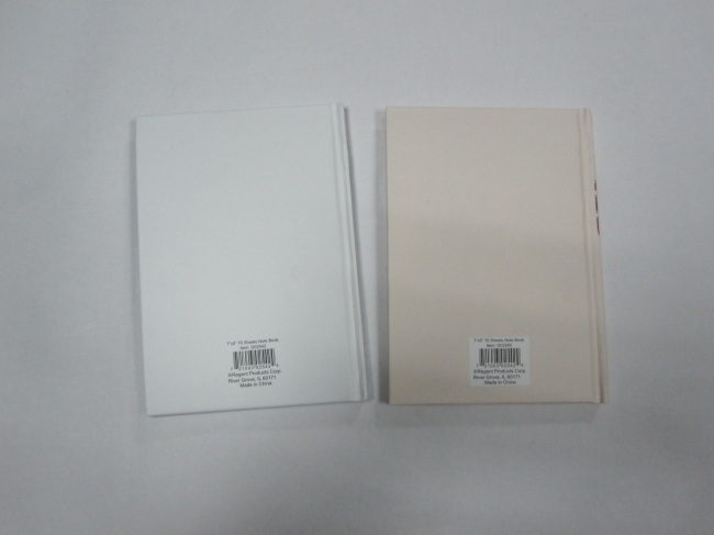 7*5 hardbound notebook cllegeg ruled