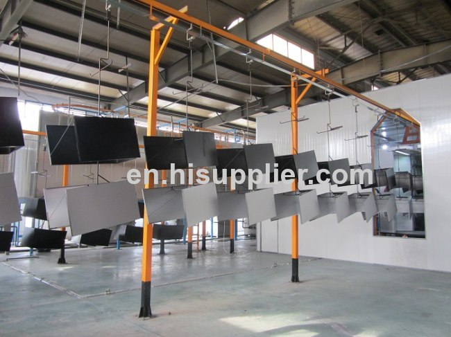 easy operate powder coating spray booths