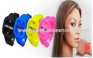 Hot sale New Fashion Designer Ladies sports brand silicone watch jelly watch 12 colors