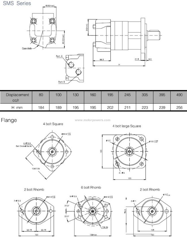 compact OMS orbit motor