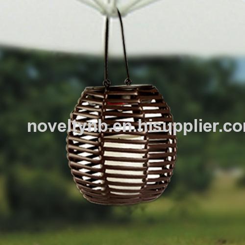 Solar lantern garden light