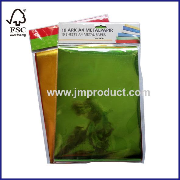 A4 Metal paper 10 sheets