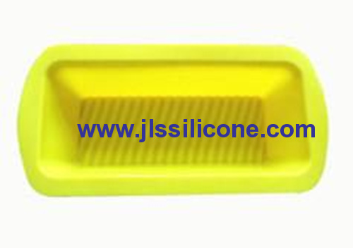 large yellow rectangle bread loaf bakeware silicone baking molds