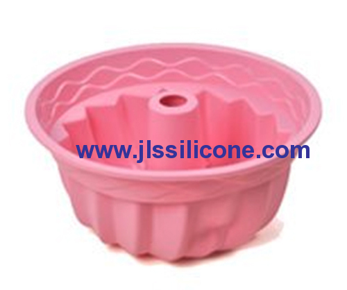 9.4inch bundt cake bake pan silicone baking molds