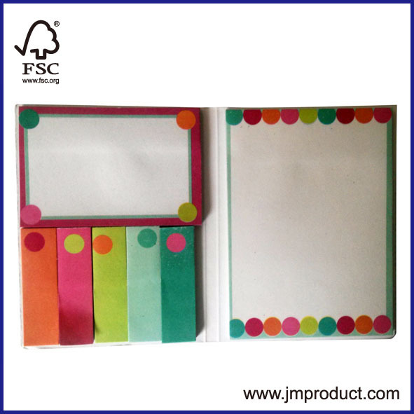 Sticky notepad for office and school