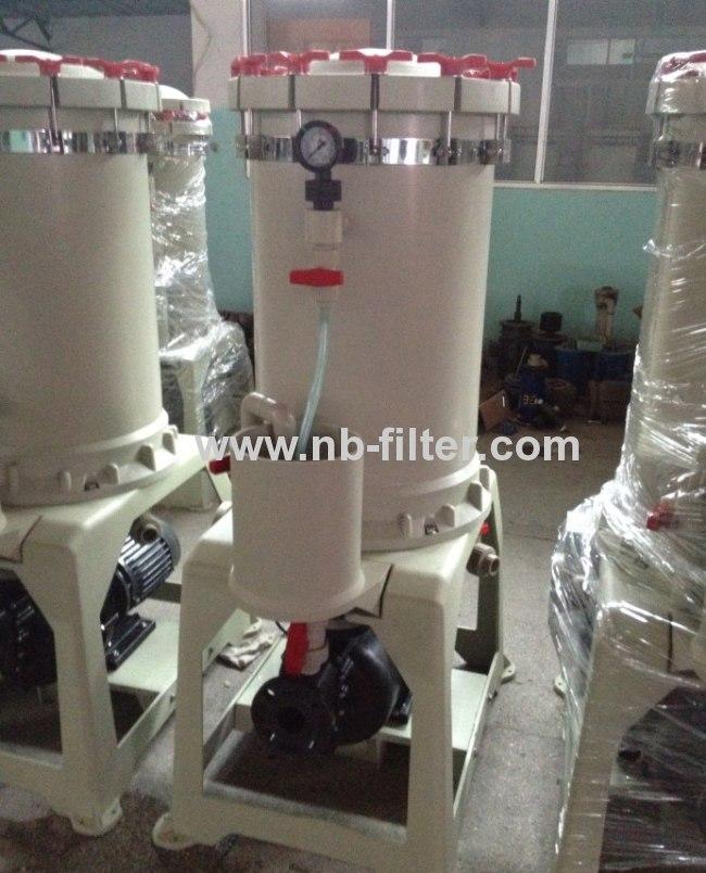 2013 100%PP Zinc Electroplating filter