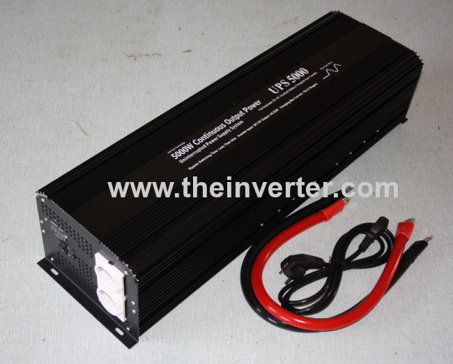 5000W Pure Sine Wave inverter WITH CHARGER