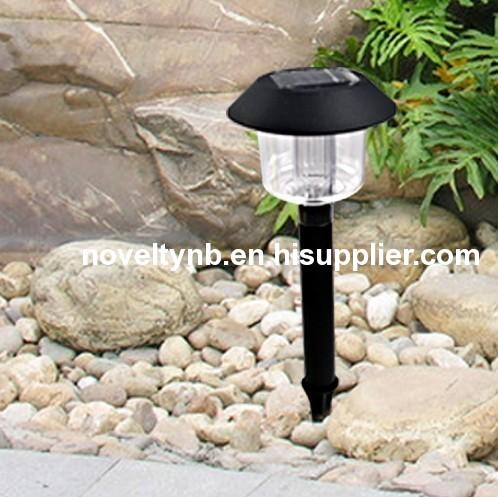 Plastic Solar garden Light