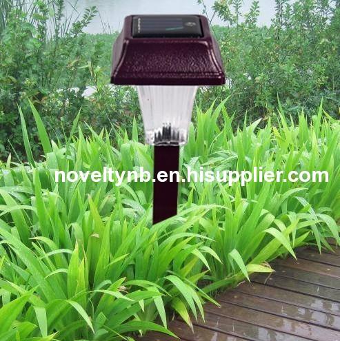 Solar stake gardenlight