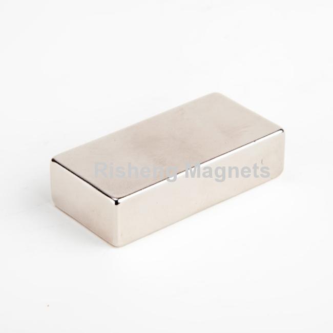 Neodymium Block Magnets Bloccare Magnete Neodimio N48 50.8 X 25.4 X 12.7mm Supermagnet Supplier
